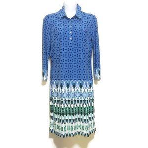 ALI RO 3/4 sleeve Printed Dress